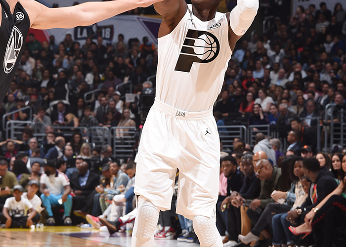 info for 07ae6 a72d7 Victor Oladipo at 2018 All-Star Weekend | Indiana Pacers
