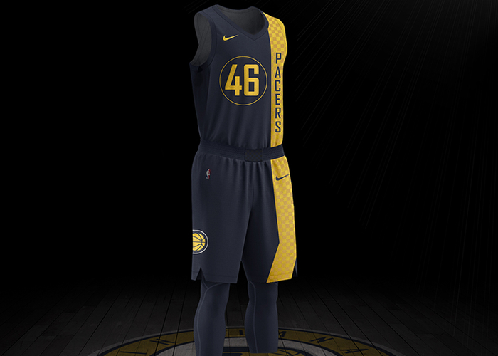 check out 3b067 64a5c See The Pacers' City Edition Uniforms Up Close | Indiana Pacers