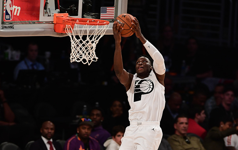 Oladipo Caps Memorable Weekend with All-Star Debut