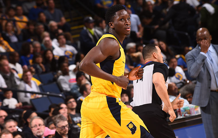 pacers handle business against undermanned warriors