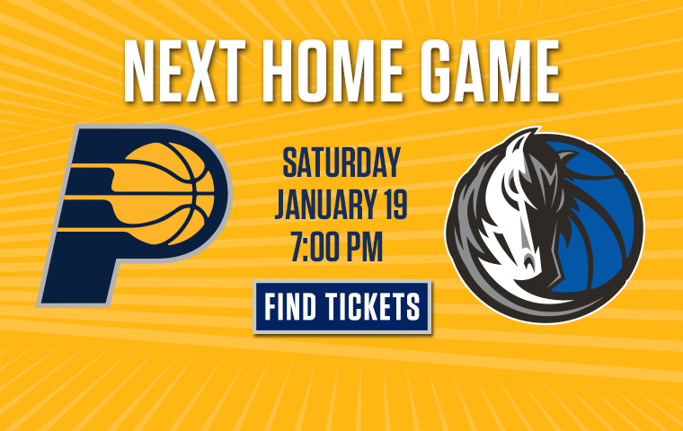 Secure Your Seats for Pacers-Mavericks