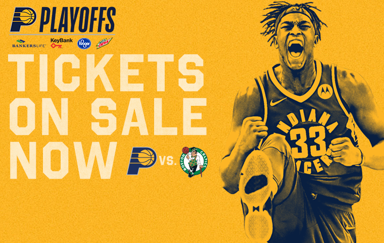Pacers-Celtics Playoff Tickets On Sale Now