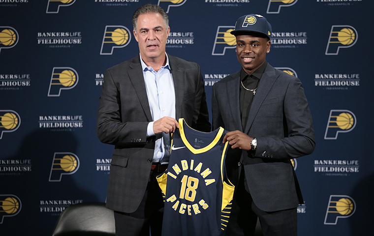 Holiday Joins Pacers Tradition of Sister Influence