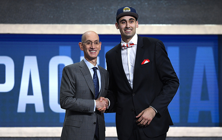 Pacers Draft Goga Bitadze with 18th Overall Pick