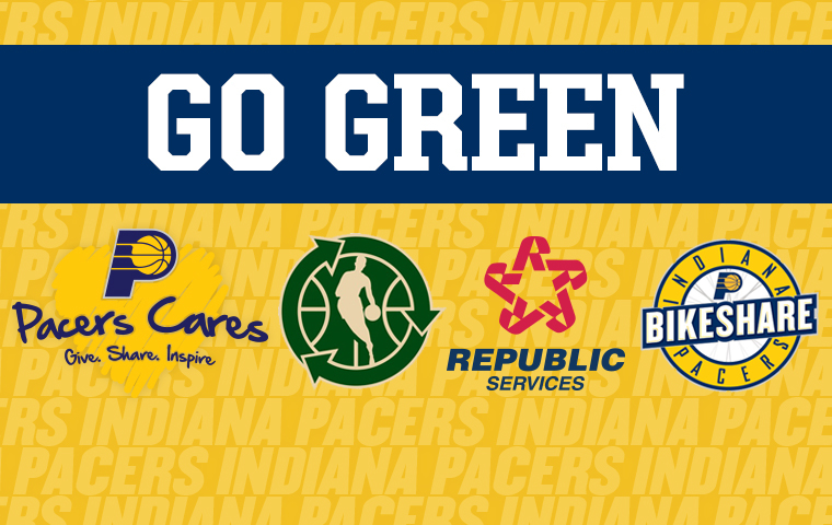 "Indiana Pacers ""Go Green"" with Republic Services"