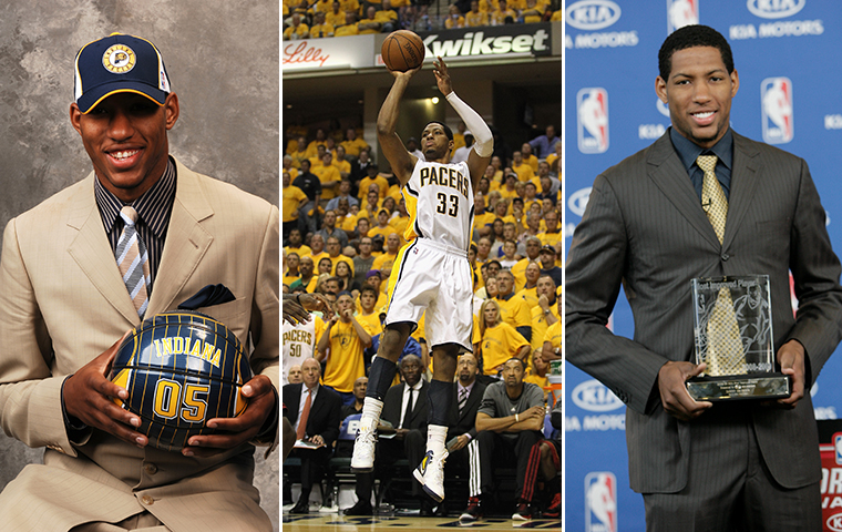Granger's Peak as Great as Any Player in Pacers History