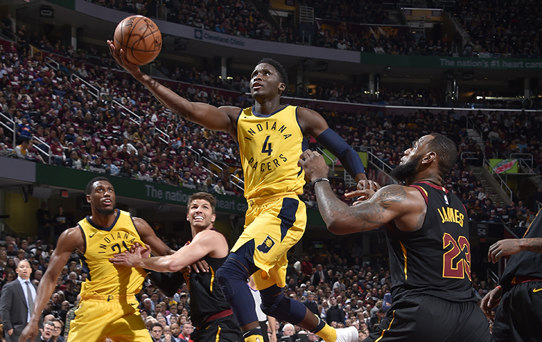 LeBron, Cavs Stave Off Pacers Comeback to Take Game 2