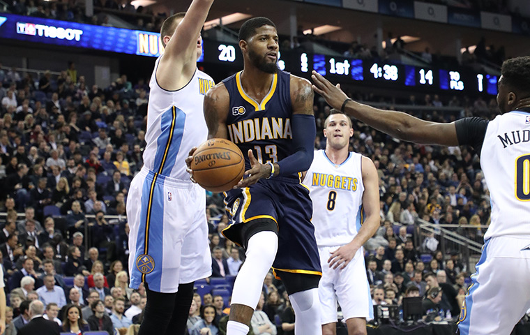 Game Rewind: Pacers Fall to Nuggets in London