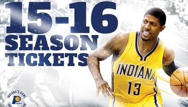 2015-16 Pacers Season Tickets