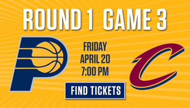 Round 1 Game 3 Tickets