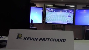 VIDEO: Inside the Pacers' War Room