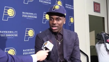 Watch: Holiday's One-on-One with Pacers.com