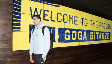 Goga Bitadze Arrives in Indiana