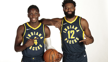 Pacers Media Day in Photos