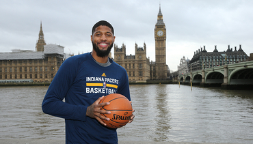 Pacers in London: Team Photo Shoot