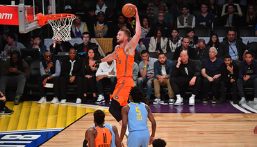 Double-Double for Sabonis on Friday