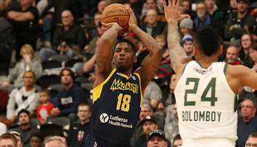 Jones Named G League Player of Month