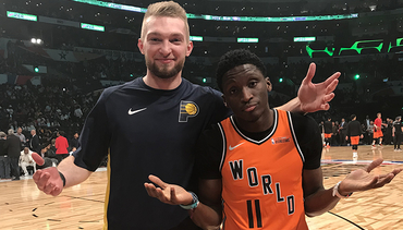 Domantas Sabonis at 2018 All-Star Weekend