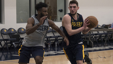 128d9e4f0 Jerome Brings Championship Pedigree to Pacers Workout
