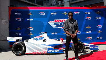 Oladipo Paces the Field at Indianapolis 500