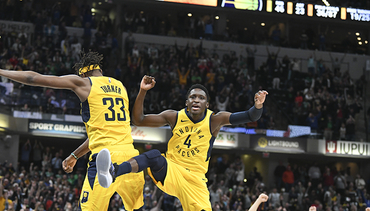 Oladipo's Heroics Lift Pacers Over Celtics