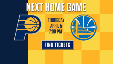 Secure Your Seats for Pacers-Warriors
