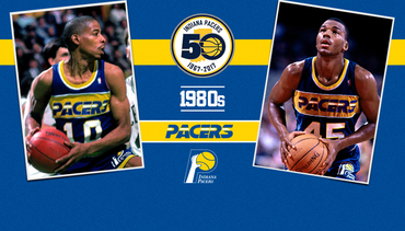 More Coverage at Pacers.com/1980s