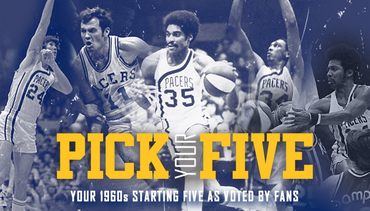 Fans Select 1960s Starting Five