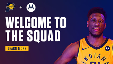Pacers, Motorola Announce Partnership