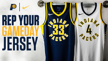 Get Your Pacers Jersey Today