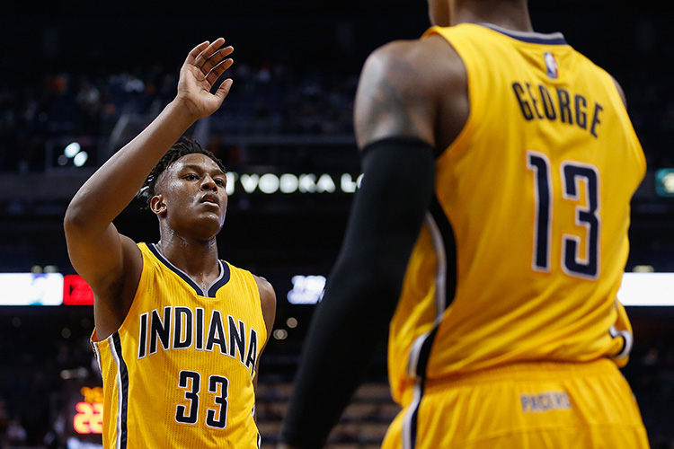 Myles Turner, Paul George
