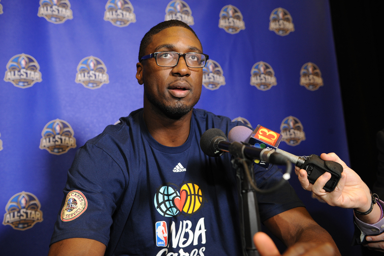 Hibbert Answers Questions Regarding 2014 All-Star Game