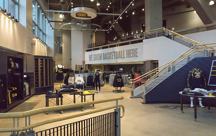 695c121e6 New Pacers Team Store Opens Friday