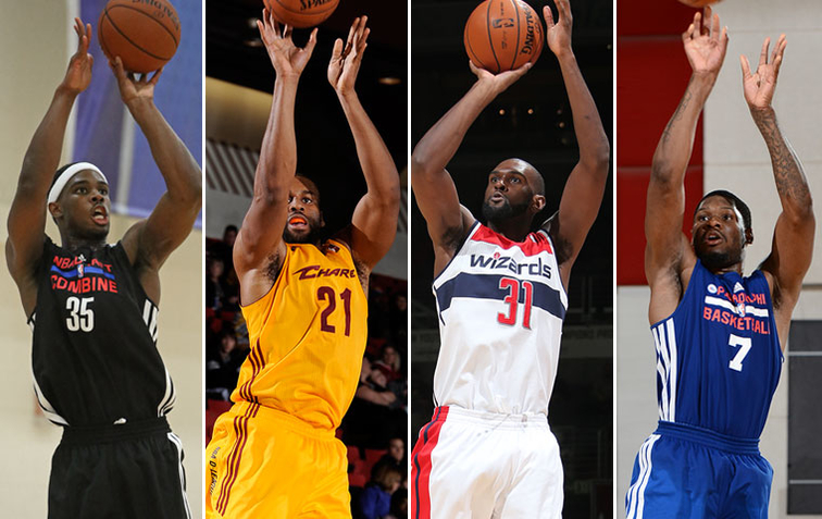 The Pacers have signed C.J. Fair, Arinze Onuaku, Chris Singleton and Adonis Thomas.