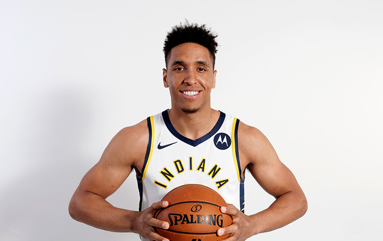 Image result for malcolm brogdon pacers