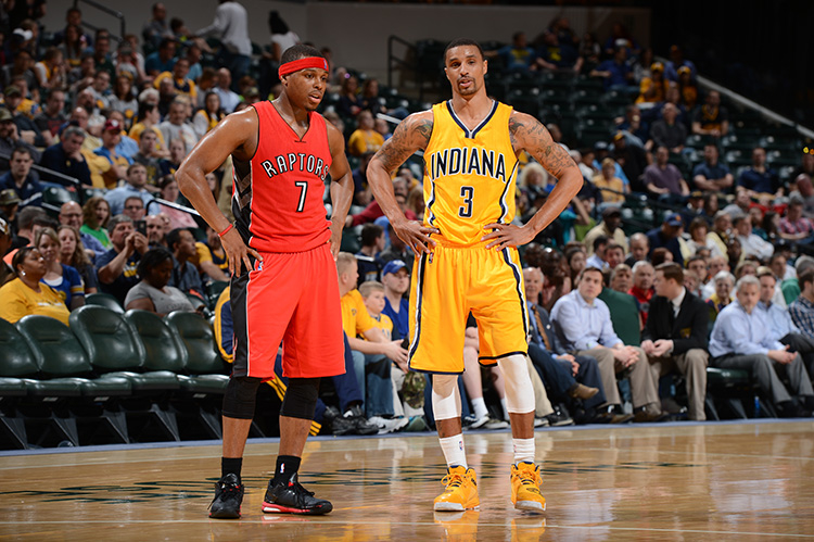 Kyle Lowry, George Hill