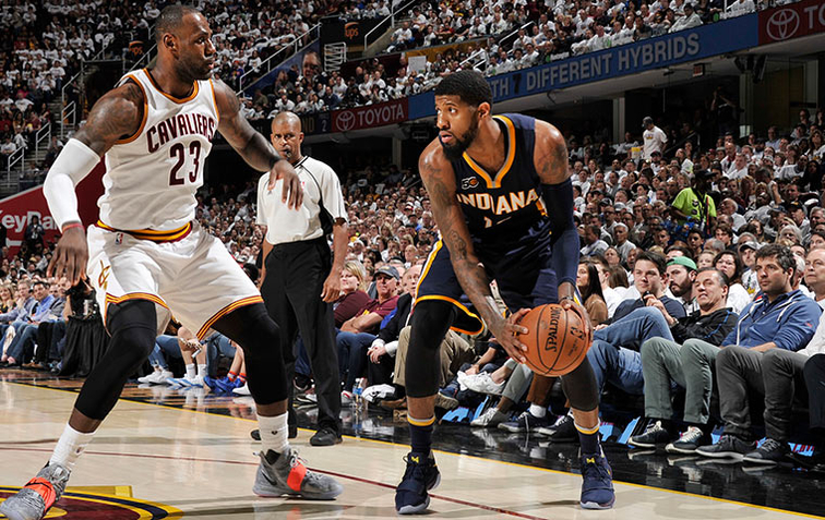 Cavaliers go up 2-0 on Pacers