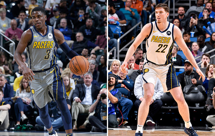 Aaron Holiday, TJ Leaf