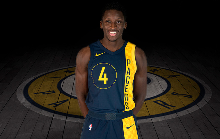 Victor Oladipo · City Edition Uniforms Speak to Soul of Pacers History 8e4691fad