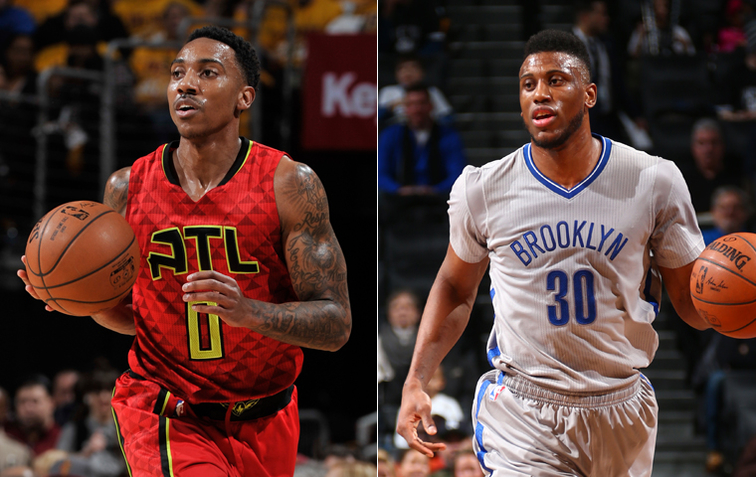 Jeff Teague, Thad Young