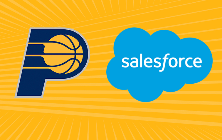 Pacers Sports & Entertainment Teams Up with Salesforce to Create the