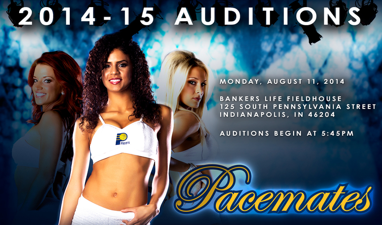 Pacemates Auditions - August 11, 2014 at 5:45 PM