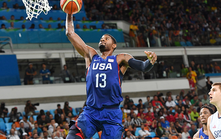 590a5d915 2016 U.S. Olympic Men s And Women s Basketball Teams Share 2016 USA  Basketball Team Of The Year Honor