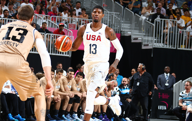 US romps over Argentina in first Olympic exhibition