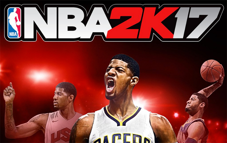 3b4f51d22d24 What They re Saying  Paul George Lands on Cover of NBA 2K17 ...