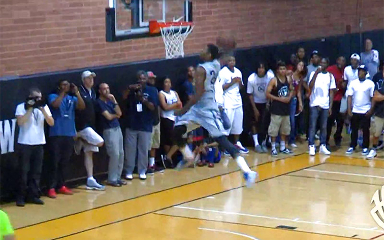 PG Dunking in Drew League