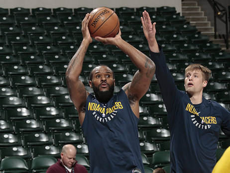Booker's Homework Leads Him to Pacers