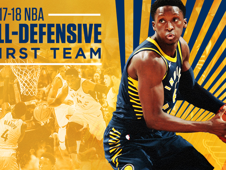 Victor Oladipo All-Defensive First Team