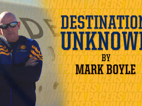 Destination Unknown - Pacers Blog by Mark Boyle