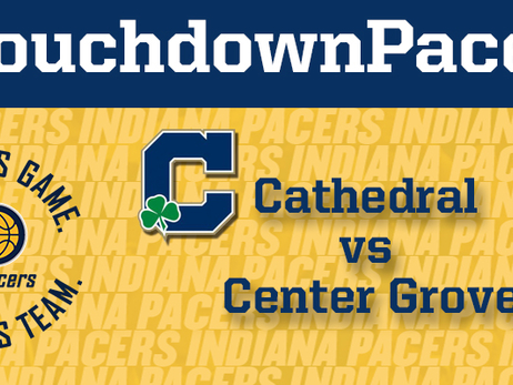 #TouchdownPacers: Center Grove vs. Cathedral